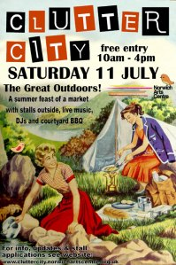 Clutter City Poster 11 July 2009