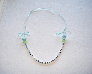 Ahoy There Seaside Necklace Green