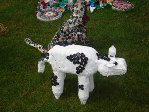 RHS Tatton Flower Show 2009 Cow