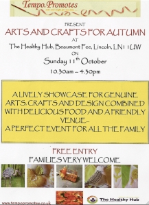 Arts an Crafts for Autumn 2009 poster
