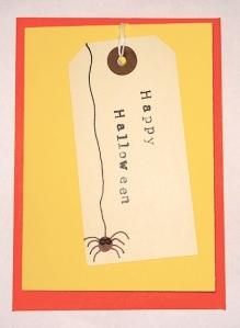 New card design (Happy Halloween) by Original Minnie