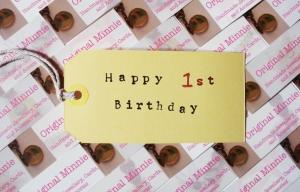 Happy 1st Birthday Original Minnie