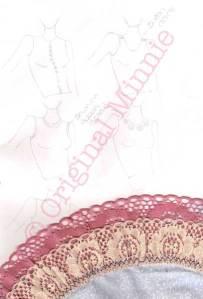 dressmaking sketch