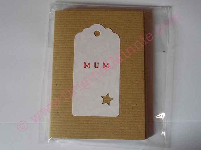 Mum recycled Notepad © Original Minnie