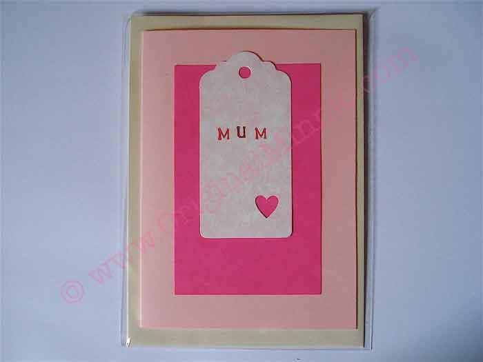 Mum pink card © Original Minnie