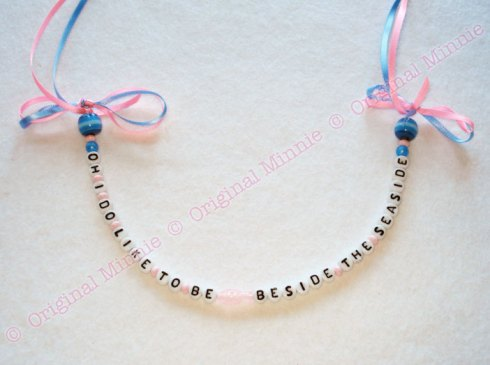 Original Minnie Ahoy There range Seaside Necklace