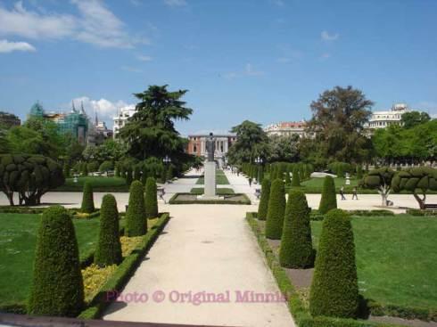 Original Minnie Madrid Retiro Park Gardens