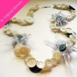 Original-Minnie-Handmade-Buttons-and-Bows-Necklace-cream-and-green