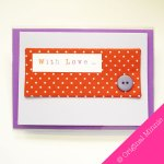 Original-Minnie-Handmade-With-Love-Card-with-fabric-and-button
