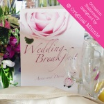 Original Minnie © Wedding and Occasion Stationery 2010 - Wedding Breakfast Menu from my Vintage Rose range