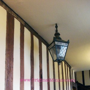 © Original Minnie at Gainsborough Old Hall Wedding Fayre old street lamp