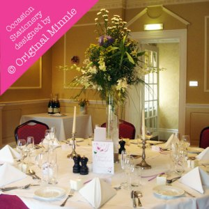 © Original Minnie Wedding and Special Occasion Stationery designed for table settings